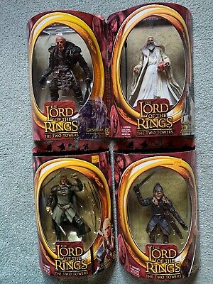 The Lord Of The Rings 4 Action Figures The Two Towers Toybiz LOTR