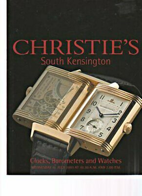 Christies July 2003 Clocks, Barometers and Watches