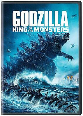 Godzilla:king Of The Monsters (New,2019,Dvd,Release) Powerful,Action...free Ship
