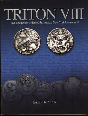 CNG TRITON VIII - Grek Roman Coin Ancient Coins 2005 Reference Auction Catalog