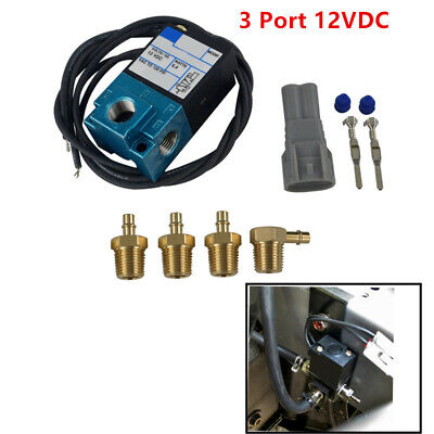 MAC 3 Port Electronic Boost Control Solenoid Valve 35A-ACA-DDBA-1BA With Brass