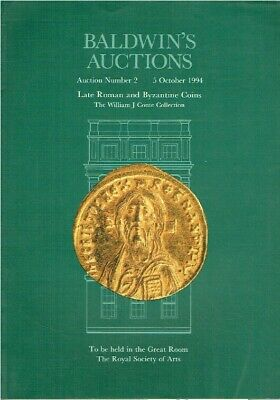 Baldwins October 1994 Late Roman & Byzantine Coins - William J Conte Collection