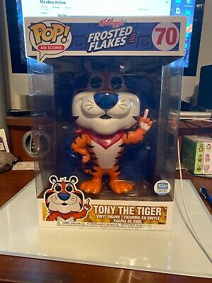 10 In Kellogg's Frosted Flakes Tony The Tiger Ad Icons Funko Pop Limited Edition
