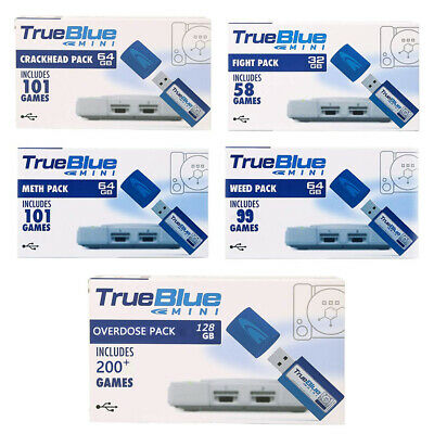 True Blue Mini -Fight /Meth/Crackhead Pack for 101 Games Console Accessories US