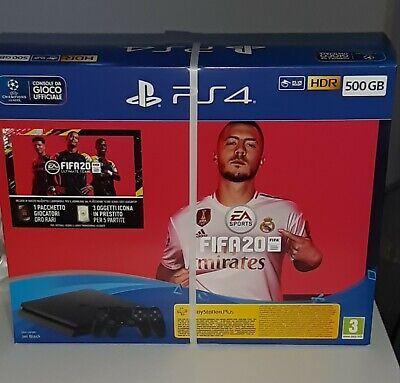 Offertissima  Console Sony Ps4 500Gb Hdr Chassis F + 2 Joystick + Fifa.