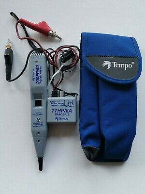 Greenlee Tempo 200FP/50 Filter Probe and Tempo 77HP/6A very good cond!