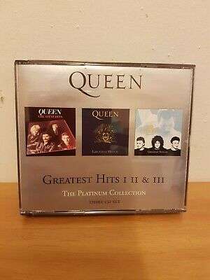 Queen Greatest hits 1 2 AND 3 Cds