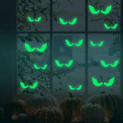3261 Eye Glow In The Dark Wall Stickers Luminous Fluorescent Wall Stickers%R1