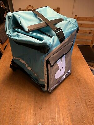 Deliveroo Brand New Roll Top Backpack D139