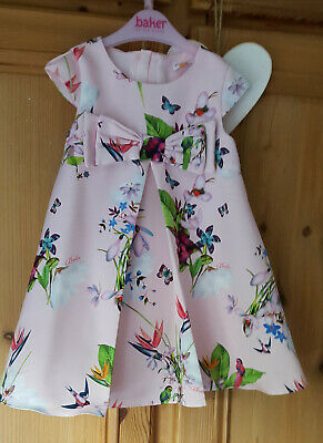 Baker Ted Baker Floral Dress Age 18 - 24 Months
