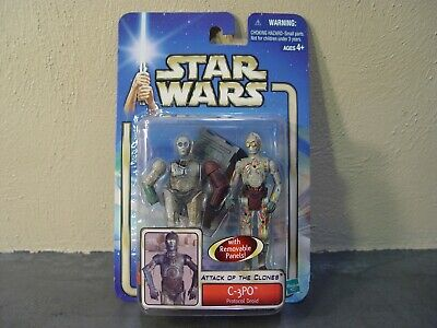 Star Wars Attack of the Clones C-3PO Protocol Droid Action Figure