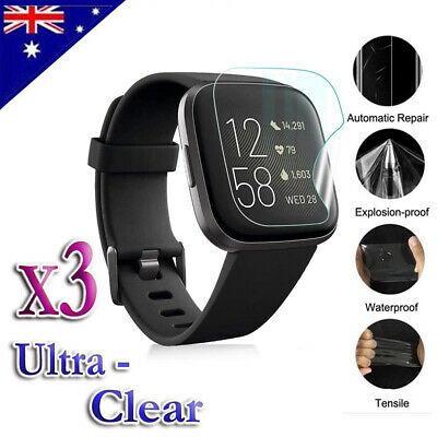 Ultra Clear Screen Protector Film Guard For Fitbit Versa 2