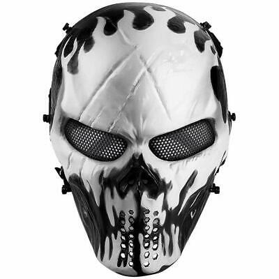 Adult Ajax Face Mask Hood L Call Of Duty Ghost Modern Warfare