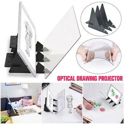Art Optical Drawing Projector Copy Pad Painting Tracing Board Sketch Bracket Kit