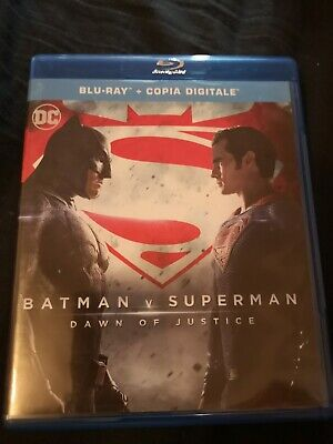 Batman V Superman - Blu Ray Edizione Italiana