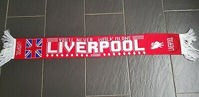 Liverpool Fc You Will Never Walk Alone Scarf