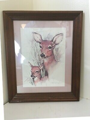 Deer Painting by Paul Whitney Hunter