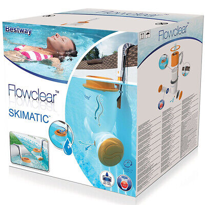 Flowclear Bestway Skimatic Filter Pump Surface Skimmer For Walled Spa Pools Tub