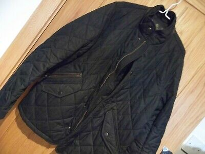 BARBOUR CHILDS BLACK QUILTED  JACKET SIZE Large = 10/11yrs - perfect