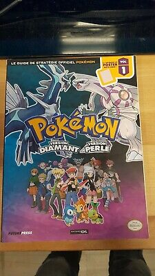 Guide de stratégie officiel Pokémon Version diamant et perle