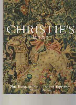 Christies 2000 Fine European Furniture & Tapestries