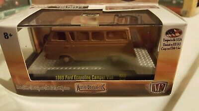 M2 Machines 1965 Ford Econoline Camper Van Auto Projects R3 1:64