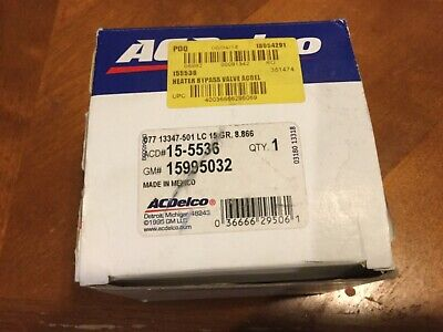 ACDelco 15-5870 GM Original Equipment Heating and Air Conditioning Control Valve
