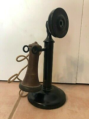Original Antique Western Electric Candlestick Phone 323 W Jan 26 15 Made in USA