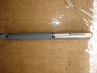 Vintage Parker 51 Blue Diamond Fountain Pen Grey