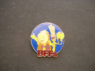 Disney Parks Pins - BFFs Mystery Collection - Beauty and Beast -Cogsworth/Lumine