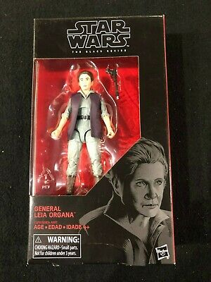 General Leia Organa Star Wars The Black Series Action Figure Hasbro Brand New