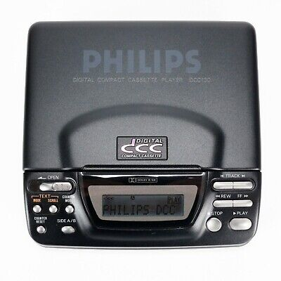 Philips DCC 130 Portable Digital Compact Cassette Player - Restored & Like New