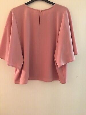 Pink Candy Couture Matalan Top Age 13 Years 12/13 13/14 (836)