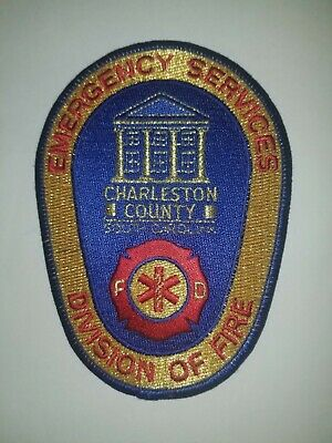 Charleston County South Carolina SC Fire Rescue Emergency Services Division ESD