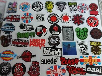 60s & 70s Punk Rock & Rock n Roll Decal Stickers listing 151-152