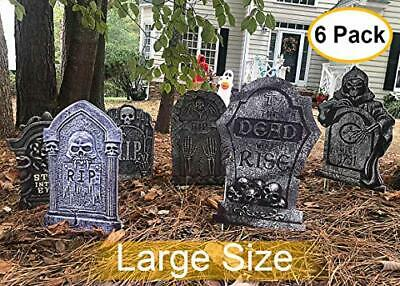 Halloween Yard Signs Tombstone Yard Stakes Gravestone Yard Sign Stake for Headst