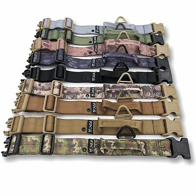 "Width 1.5"" Dog Tactical Collar Handle HEAVY DUTY Working Military Training K9"