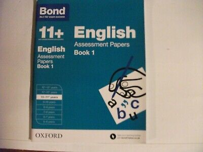 Bond 11+: English: Assessment Papers 10-11+ years Book 1 9780192740052