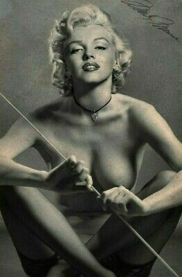 Vintage Marilyn Monroe Nude Pin Up Photo 878 Oddleys Strange & Bizarre 4 x 6