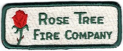 Rose Tree Delaware County Pennsylvania PA Fire Company Department Patch