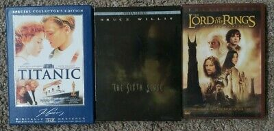 Titanic - The Sixth Sense - Special Collector's Edition - DVD lot of 3