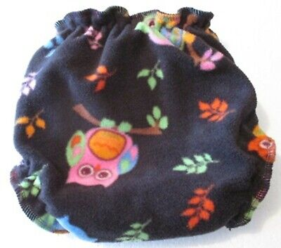 Night Owls Fleece Pull-on Nappy Cover Medium-Large - AUSTRALIAN MADE