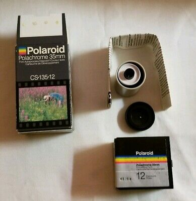 Polaroid Polachrome 35mm NEW CS-135-12 Autoprocess Color Transparency Film Vtg