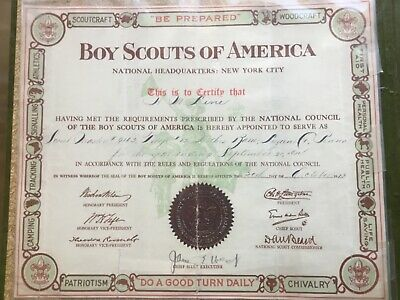 1912-1949 Boy Scouts of America SCOUT MASTER Troop 12 SCRAPBOOK Wilkes Barre PA