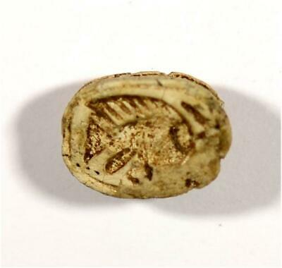 Egypt New Kingdom 18th Dynasty steatite scarab