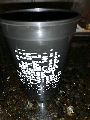 Metallica Blackened American Whiskey NEW Official PROMO 16 oz Cup Tumbler