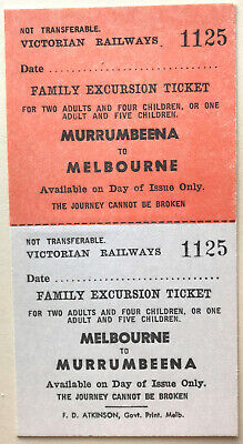 VR Ticket - MURRUMBEENA to MELBOURNE - Family Excursion