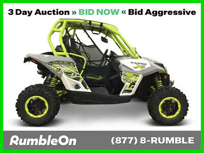 2015 Can-Am MAVERICK 1000R TURBO X DS CALL (877) 8-RUMBLE Used
