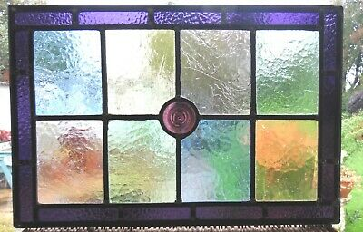 Newly Created Stained Glass Panel - Ref Sg404