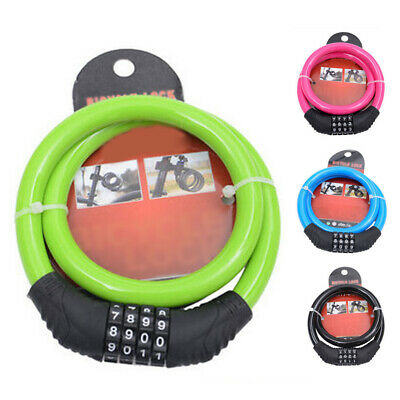 Cable lock Car Motorcycles Anti-theft Combination Mountain Bicycle Security
